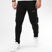 /achat-pantalons-cargo/gianni-kavanagh-pantalon-cargo-skinny-black-night-collection-gkg002340-noir-dore-208235.html