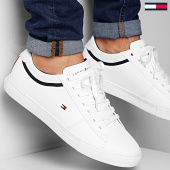 /achat-baskets-basses/tommy-hilfiger-baskets-essential-leather-2681-white-208169.html