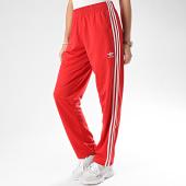 /achat-pantalons-joggings/adidas-pantalon-jogging-femme-a-bandes-firebird-fm3814-rouge-208276.html