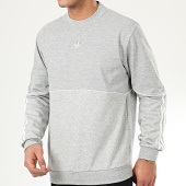 /achat-sweats-col-rond-crewneck/adidas-sweat-crewneck-a-bandes-outline-fm3921-gris-chine-208316.html