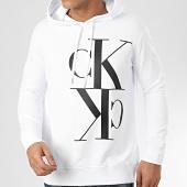 /achat-sweats-capuche/calvin-klein-sweat-capuche-2983-blanc-208423.html