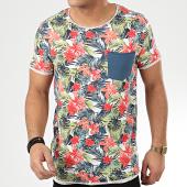 /achat-t-shirts-poche/classic-series-tee-shirt-poche-h12021z21211a-blanc-floral-208322.html