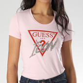 /achat-t-shirts/guess-tee-shirt-femme-a-strass-w0gi08-j1300-rose-208386.html