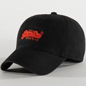 /achat-casquettes-de-baseball/superdry-casquette-orange-label-cap-noir-208253.html