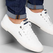 /achat-baskets-basses/pepe-jeans-baskets-aberman-smart-pms30625-white-208265.html