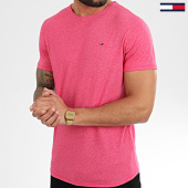 /achat-t-shirts/tommy-hilfiger-jeans-tee-shirt-essential-jaspe-4792-fuchsia-chine-208266.html