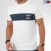 /achat-t-shirts/tommy-jeans-tee-shirt-chest-stripe-logo-7858-blanc-casse-208283.html