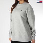 /achat-sweats-col-rond-crewneck/tommy-jeans-sweat-crewneck-femme-tommy-classics-4529-gris-chine-208335.html