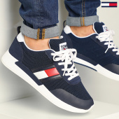 /achat-baskets-basses/tommy-jeans-baskets-flexi-tommy-jeans-flag-sneaker-0400-twilight-navy-208399.html