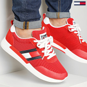/achat-baskets-basses/tommy-jeans-baskets-flexi-tommy-jeans-flag-sneaker-0400-deep-crimson-208401.html