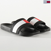 /achat-claquettes-sandales/tommy-hilfiger-claquettes-essential-flag-pool-2327-dark-ash-208414.html