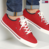 /achat-baskets-basses/tommy-hilfiger-baskets-core-corporate-textile-sneaker-2676-regatta-red-208416.html