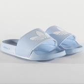 /achat-claquettes-sandales/adidas-claquettes-femme-adilette-lite-fu9138-bleu-208526.html