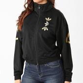 /achat-vestes/adidas-veste-zippee-femme-large-logo-fs7220-noir-dore-208529.html