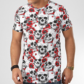 /achat-t-shirts/terance-kole-tee-shirt-floral-98371-blanc-rouge-208458.html