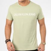 /achat-t-shirts/calvin-klein-jeans-tee-shirt-7856-vert-clair-208731.html