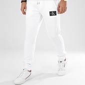 /achat-pantalons-joggings/calvin-klein-jeans-pantalon-jogging-4066-blanc-208738.html