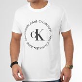 /achat-t-shirts/calvin-klein-tee-shirt-ck-round-logo-4760-blanc-208744.html