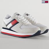 /achat-baskets-basses/tommy-jeans-baskets-femme-platform-runner-colour-0790-red-white-blue-208576.html