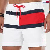 /achat-maillots-de-bain/tommy-hilfiger-short-de-bain-drawstring-1070-blanc-208568.html