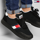 /achat-baskets-basses/tommy-jeans-baskets-flexi-tommy-jeans-flag-sneaker-0400-black-208592.html