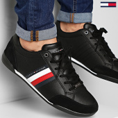 /achat-baskets-basses/tommy-hilfiger-baskets-corporate-material-mix-cupsole-2665-black-208599.html