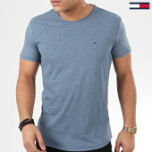 /achat-t-shirts/tommy-hilfiger-jeans-tee-shirt-essential-jaspe-4792-bleu-chine-208605.html