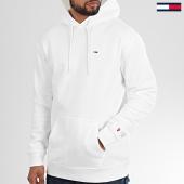 /achat-sweats-capuche/tommy-hilfiger-jeans-sweat-capuche-tommy-classics-7199-blanc-208615.html