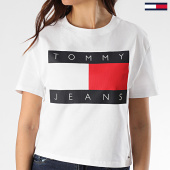 /achat-t-shirts/tommy-jeans-tee-shirt-femme-tommy-flag-7153-blanc-208632.html