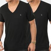 /achat-t-shirts/calvin-klein-lot-de-2-tee-shirt-col-v-nb2408a-noir-208869.html