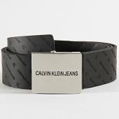 /achat-ceintures/calvin-klein-ceinture-uniform-plaque-5601-noir-209020.html