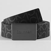 /achat-ceintures/calvin-klein-ceinture-metal-plaque-monogram-5756-noir-209026.html