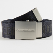 /achat-ceintures/calvin-klein-ceinture-logo-tape-plaque-5769-bleu-marine-209027.html