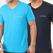 /achat-t-shirts/emporio-armani-lot-de-2-tee-shirts-col-v-111849-0p717-bleu-marine-bleu-clair-208850.html