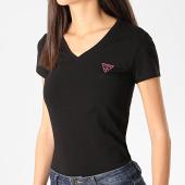 /achat-t-shirts/guess-tee-shirt-slim-femme-col-v-w0gi13-j1300-noir-208943.html