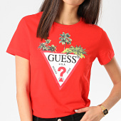 /achat-t-shirts/guess-tee-shirt-femme-w0gi52-ja900-rouge-208946.html