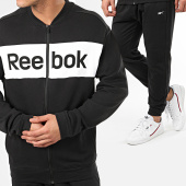 /achat-ensembles-survetement/reebok-ensemble-de-survetement-linear-logo-fp8156-noir-blanc-209057.html