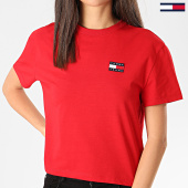 https://www.laboutiqueofficielle.com/achat-t-shirts/tommy-hilfiger-tee-shirt-femme-tommy-badge-6813-rouge-209034.html