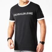 /achat-t-shirts/calvin-klein-tee-shirt-institutional-6086-noir-209072.html