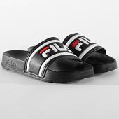 /achat-claquettes-sandales/fila-claquettes-femme-morro-bay-slipper-20-1010901-noir-209127.html