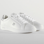 /achat-baskets-basses/fila-baskets-femme-crosscourt-2-low-1010776-white-silver-209163.html
