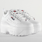 /achat-baskets-basses/fila-baskets-femme-disruptor-wedge-1010865-white-209167.html