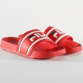 /achat-claquettes-sandales/fila-claquettes-morro-bay-slipper-2-1010930-fila-red-209176.html