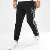 /achat-pantalons-joggings/hugo-boss-pantalon-jogging-a-bandes-authentic-50424796-noir-209136.html