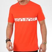 /achat-t-shirts/hugo-boss-tee-shirt-rn-uv-protection-50407600-orange-209148.html