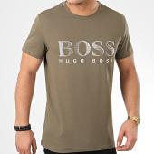 /achat-t-shirts/hugo-boss-tee-shirt-rn-uv-protection-50407774-vert-kaki-209156.html