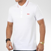 /achat-polos-manches-courtes/hugo-by-hugo-boss-polo-manches-courtes-dinoso-202-50425770-blanc-209151.html