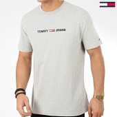 /achat-t-shirts/tommy-hilfiger-jeans-tee-shirt-straight-small-logo-7621-gris-chine-209088.html