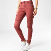 /achat-pantalons-cargo/vero-moda-pantalon-cargo-slim-femme-hot-seven-bordeaux-209110.html