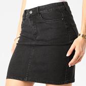 /achat-jupes/vero-moda-jupe-jean-femme-hot-seven-noir-209117.html